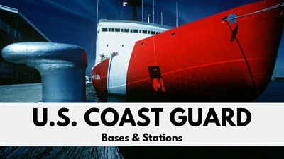 US Coast Guard Bases and Stations