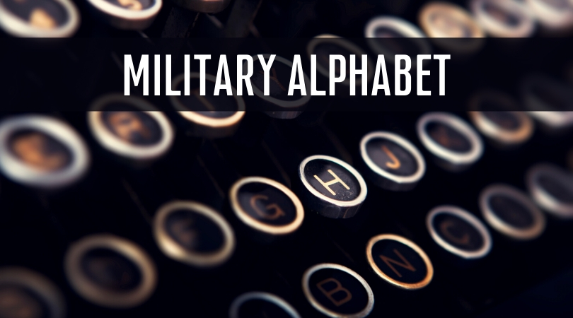Military Alphabet Military Base Guide