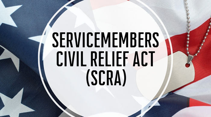 Servicemembers Civil Relief Act SCRA Benefits