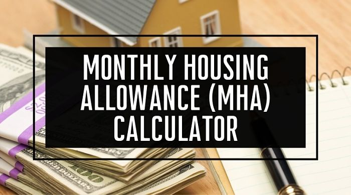 Monthly Housing Allowance Calculator (MHA)