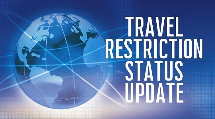 Travel Restriction Installation Update