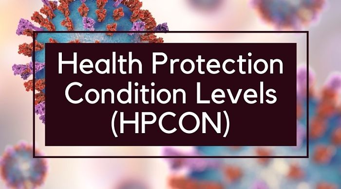 Health Protection Condition Levels (HPCON)